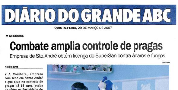 Diário do Grande ABC Março 2007